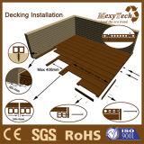 木製のプラスチック合成の板のフロアーリングの共押出しWPC Decking