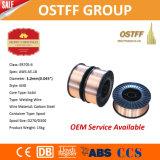 """fil de soudure de MIG de 1.2mm (0.045 """") Er70s-6 Chine avec l'arc stable lisse, éclaboussure inférieure"""