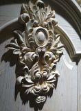 Puerta exterior de madera sólida
