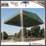 Sistema di alluminio del fascio del tetto del fascio della fase di concerto con il baldacchino del tetto