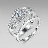 De zilveren Fonkelende Verlovingsringen van Juwelen