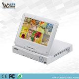 """디지털 1개의 잡종 비디오 녹화기 10에 대하여 8chs 6 """" LCD 안전 CCTV DVR"""