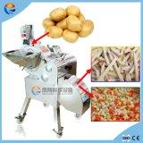 Automatischer Gemüsefrucht-Tomate-Karotte-Kartoffel-Kürbis-Ananas-Würfel Dicer