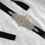 Шикарный Shining кристаллический каменный пояс венчания