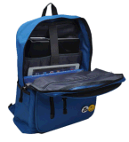 Bolso azul del morral de la computadora portátil del estudiante, bolso para Hobe, escuela, Ol del morral del hombro del ordenador