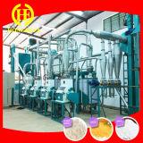 Mais-Mais-Mehl, das Maschine mit Verpackung herstellt