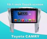 Toyota CorollaのBluetooth/WiFi/TVの前の10.1インチのタッチ画面のための人間の特徴をもつシステム車DVD GPS