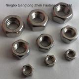 Noix hexagonales de qualité 8A DIN934 en acier inoxydable