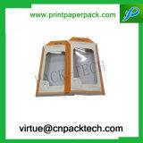 Cadre de empaquetage se pliant de produit de beauté de parfum de papier de mode fabriquée à la main faite sur commande