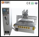 Máquina de gravura do CNC da madeira das multi cabeças a melhor