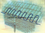 Tamanho de remoção do gelo da picareta do jogo da fita do cabo de Melter da neve do gelo do telhado do calor