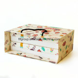 식품 포장 격실을%s 가진 상자에 의하여 주문을 받아서 만들어지는 서류상 선물 상자를 인쇄하는 Cmyk