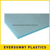 Feuille ondulée de cavité de polypropylène de feuille de plastiques