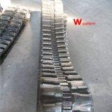 Piste en caoutchouc d'excavatrice (300X52.5X76) avec le sabot différent pour Yanmar, Kubota, tracteur à chenilles