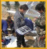 Réverbères allumés actionnés solaires