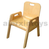 Stacking en bois Chair pour Children (81442-81444)