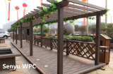 長い生命時間WPC屋外のPergola