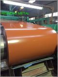 Aço galvanizado revestido cor Prepainted Suppling Coil/PPGI/PPGL da fábrica