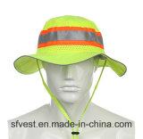 交通安全装置の高い可視性のバケツの帽子釣帽子の帽子のWorkwear釣帽子屋外のHeadwear