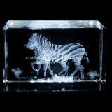Cebra cristalina 3D