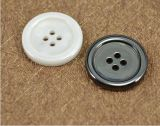 Botón de camisa de la ropa de la ropa de la cosechadora del metal y de la resina