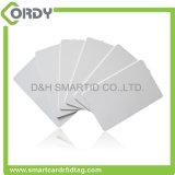 Carte vierge ultra-légère de PVC de MIFARE EV1 NFC avec le recouvrement