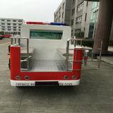Capretti di vendita di Ristar che giocano l'automobile elettrica Rsd-T11 dell'autopompa antincendio