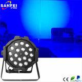 Beste het Verkopen LEIDENE 18PCS RGBW 4 in 1 Licht van het PARI van het Gezoem Binnen