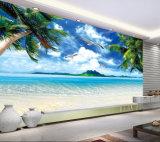 Muurschilderingen van de Muur van het Document van de Muur van het Landschap van het Strand van de Douane van de Prijs van de fabriek de Tropische