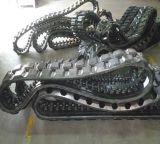 Trilha de borracha do carregador do boi do patim (T450*100K*48) para a maquinaria de construção