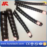 Gelber/roter/schwarzer Plastikschlauch-Schutz China-von der Gummischlauch-Fabrik