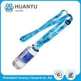 Acollador plástico del sostenedor de botella del poliester de la impresión de la promoción