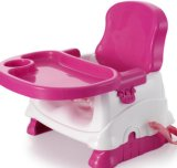 Asiento colorido del aumentador de presión del bebé para la cena que se sienta