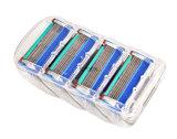 Anhaltene fünf Rasierklinge für Gillette-Schmelzverfahren 1 Satz von 4 Rasiermesser - Blau