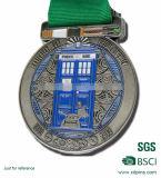 Medaglia di oro dei militari dello smalto impressa metallo