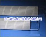 Blanco envuelto Tubo de Cine de cuarzo, cuarzo amarillo tubo envuelto alrededor del tubo PE Film Cuarzo