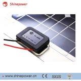 Panneau solaire monocristallin semi-flexible de 50 Watts 12 Volts pour le chargement de la batterie