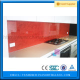 Type miroir Splashback de structure solide et en verre Tempered de 6mm Brown