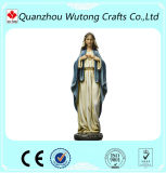 Украшение сада Polyresin статуи Mary женщины людей влюбленности материальное