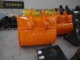 Todas as cubetas padrão da máquina escavadora dos tamanhos, cubeta da máquina escavadora do Gp