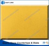 Bancadas por atacado de quartzo para partes superiores de superfície contínuas da cozinha com certificado do Ce (cores puras)