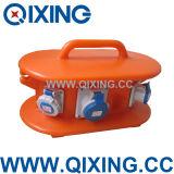 Коробка распределения Cee пластичная промышленная (QSB01)