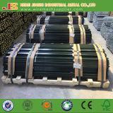 미국 강철에 의하여 장식용 목을 박는 T 포스트 또는 중국제 직류 전기를 통하는 녹색 페인트 T 포스트