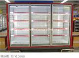 Congélateur à basse température avancé avec la porte en verre