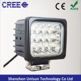 """공장 12V-24V EMC 5 """" 48W LED 기계 일 램프"""