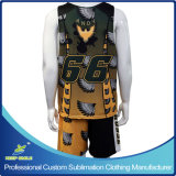 Lacrosse Uniforms di Sublimation Men su ordinazione per Game