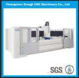 CNC de Scherpende Machine met 3 assen van het Glas voor de Deur van het Glas