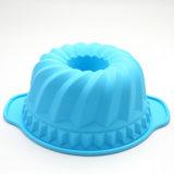 ベーキングのためのかわいいカラーシリコーンのケーキ型