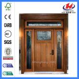 Дверь твердой древесины современного мастера нутряная деревянная высеканная (JHK-G16)