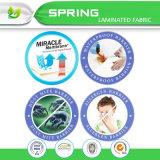 De zilveren Duidelijke Antibacteriële, Microbiële Waterdichte Beschermer van de Matras voor Huis